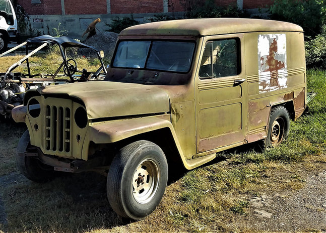 1950 Willy's JEEP panel truck