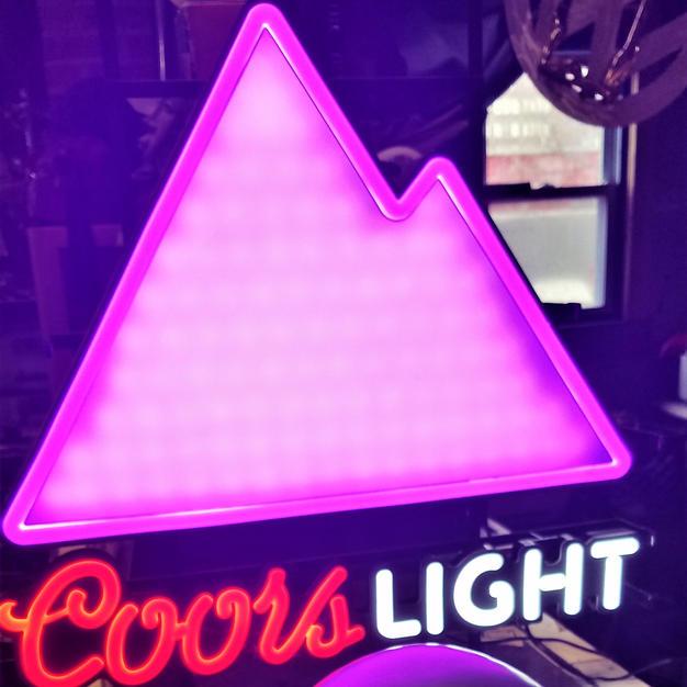 Coors Light LED mountain sign (2).jpg