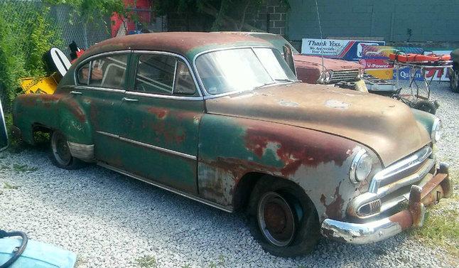 1951 Chevrolet Slopeback 4dr