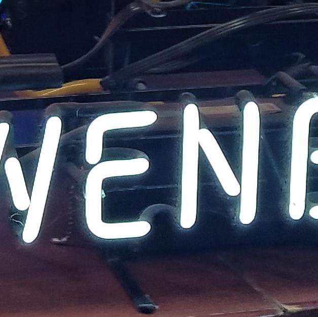 Lowenbrau neon beer sign
