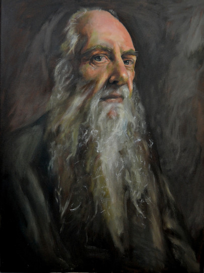 Portrait, Oil on Canvas, 45cm x 60cm, 2014 [Privately Owned]