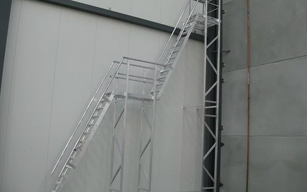 Height Stair Installation Project