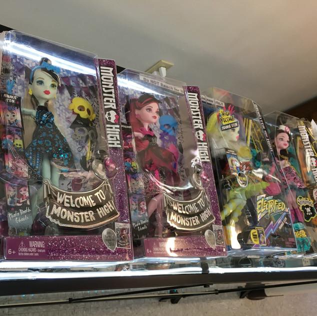 Monster High Dolls $25 -$35