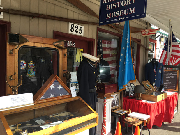 Veterans Living History Museum, located on 825 Bay Street, Port Orchard.  Come visit Dale and explore our rich military history through rare artifacts he has on display!
