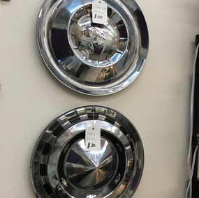 Assorted Hubcaps for Wall Art