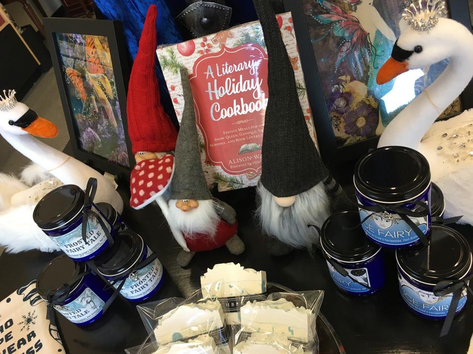 Seasonal assortment of giftable treasures!