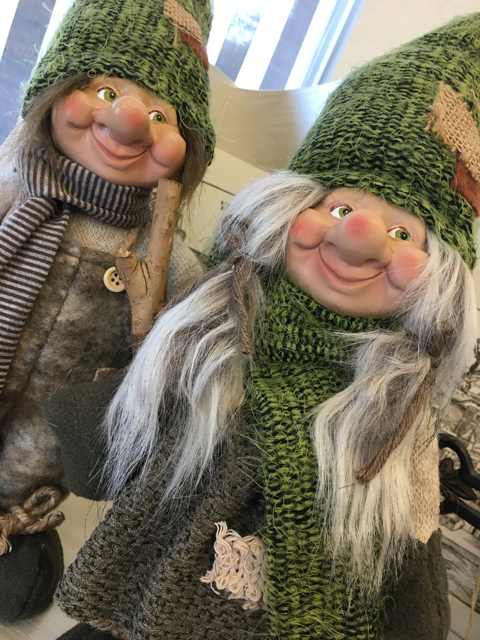 Gnomes for the holidays.