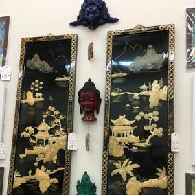 Vintage Asian Panels $25 each