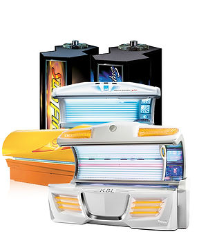 Level 3 Tanning Beds and Booths