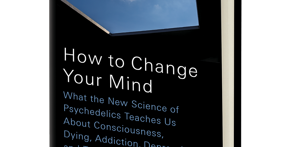 """Michael Pollan """"How To Change Your Mind"""" Talk and Book Signing"""