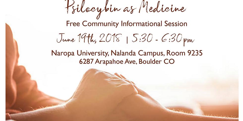 Psilocybin as Medicine