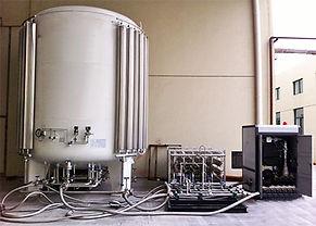 QSC crynogenic tank vertical LNG
