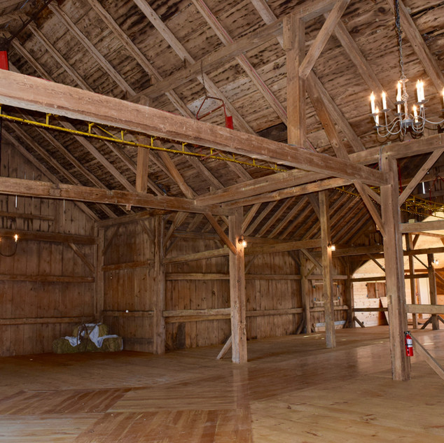 Empty Barn - Spacious View