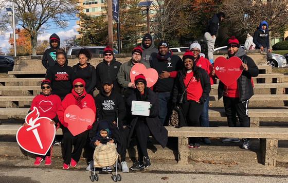 American Heart Association Fall Heart Walk