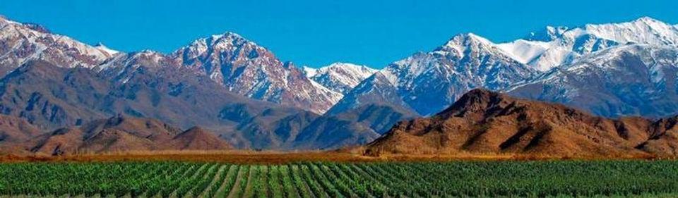 Los Andes en provincia Mendoza