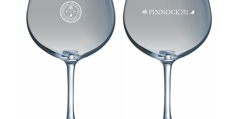 Pinnock Distillery Copa Glass and Two, Four & Six-Piece Sets