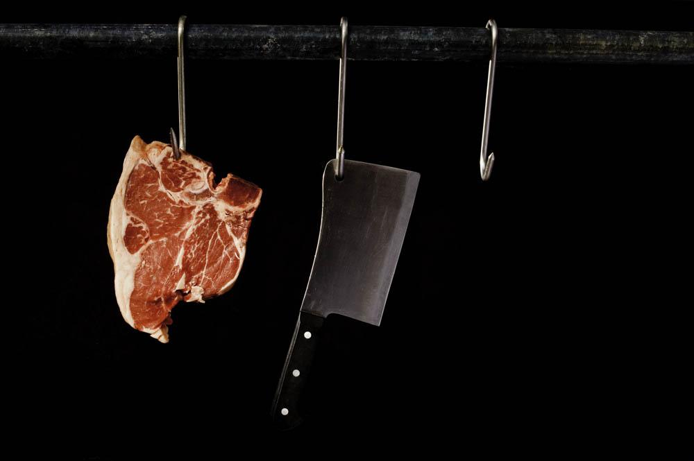 t bone, steak, nathan lanham, photograph