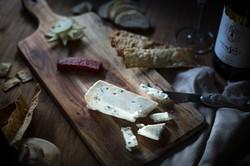 Homemade, lavash, cheese, grazing platte