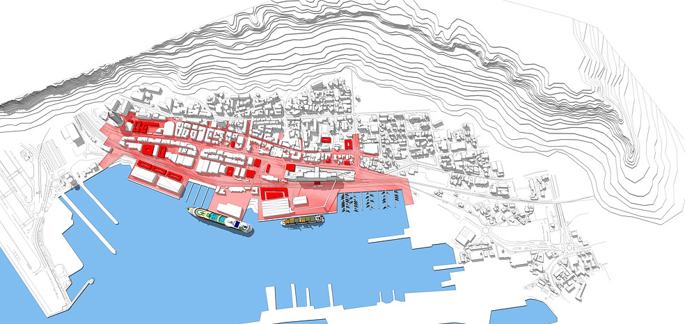 Hifa Downtown District, Train Undertunneling and Complete Renovationing of the coast