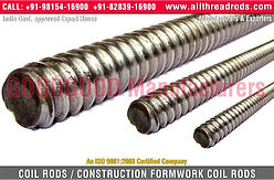 Coil Rods & Tie Rods