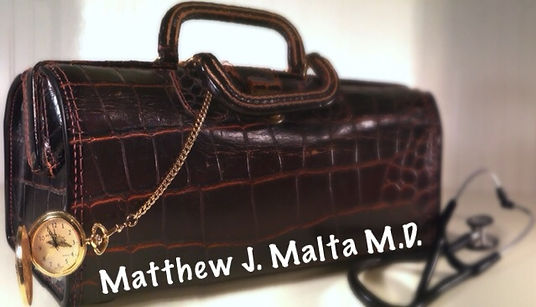 Annapolis doctor, Dr Matthew Malta