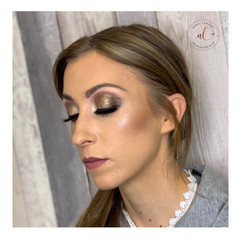 Gold & Brown Glam
