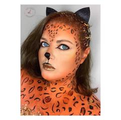 Leopard Body Paint