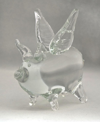 Crystal Flying Pig