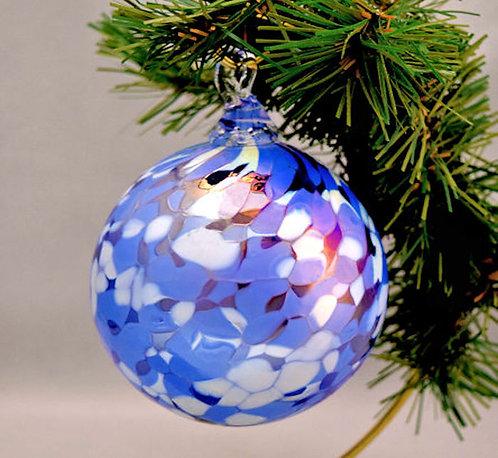 Sparkling Snow Ornament