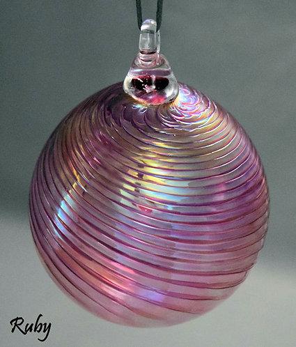 Transparent Optic Ornament