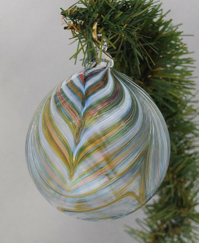 Pulled Feather Ornament