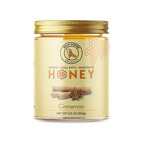 Cinnamon Organic Honey
