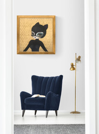 Catwoman on Gold