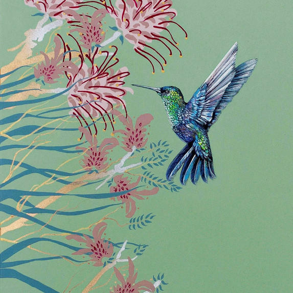 Hummingbird Green no2