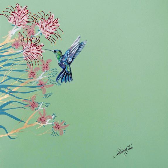 Hummingbird Green no1
