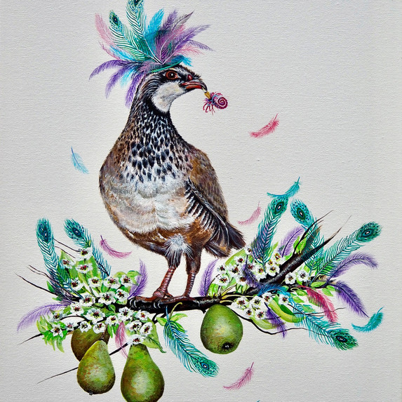 Party Partridge in a Pear Tree
