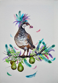 Party Partridge in a Pear Tree - For Sale
