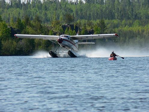 Float Plane Canoe