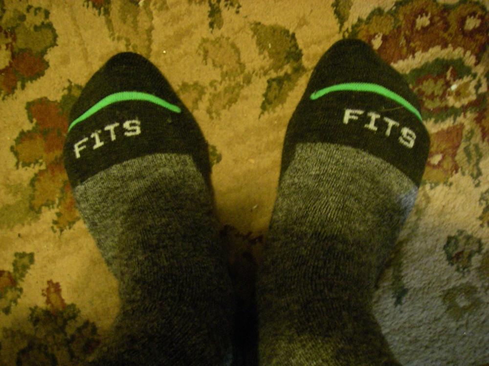 Cliff's feet!