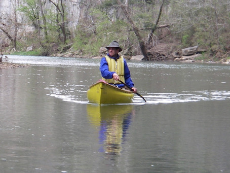 WHY BENT PADDLES ARE BEST FOR CRUISING CANOES