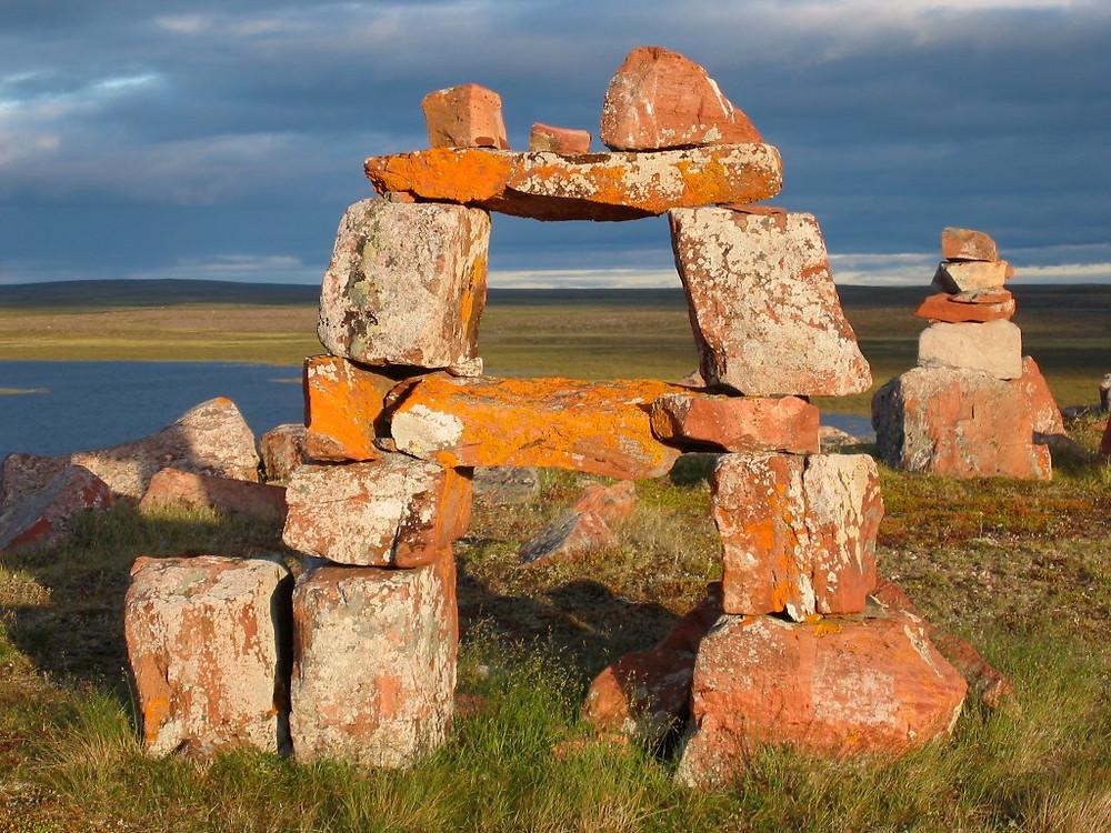 Inukshuk (stone man)