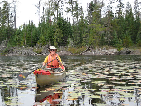 Cliff Jacobson Canoe BWCA