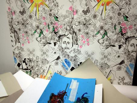 Inside Artsite Studios - Sue Bardwell