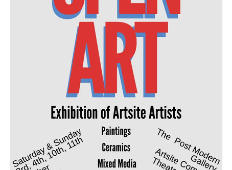 Coming Soon to the PoMo: Open Art & Generations Passing