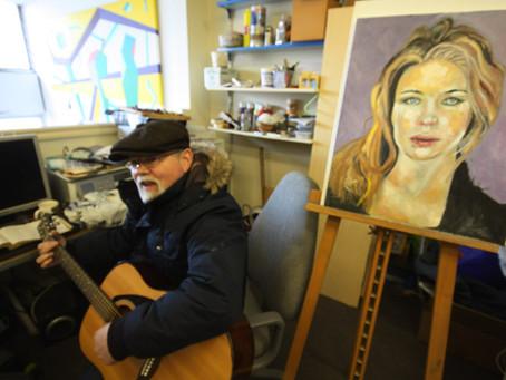 Inside Artsite Studios - Martin King