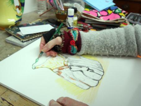 Inside Artsite Studios - Paula Sullivan