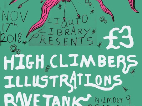 Coming Soon to Number Nine: Liquid Library Presents - 17th November