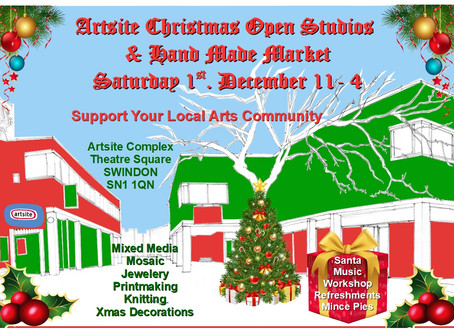 Artsite Christmas Open Studios and Handmade Market