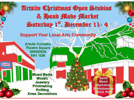 Artsite Christmas Open Studios and Handmade Market