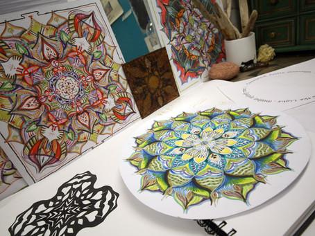 Inside Artsite Studios - Kelly Ishwari Waldek